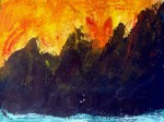 Fiery Sunset $50.00