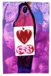 Kisses Charm Card $10.00